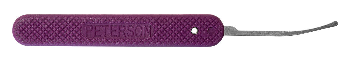 Peterson GSP Peterson Reach - Purple Handle Lock Pick
