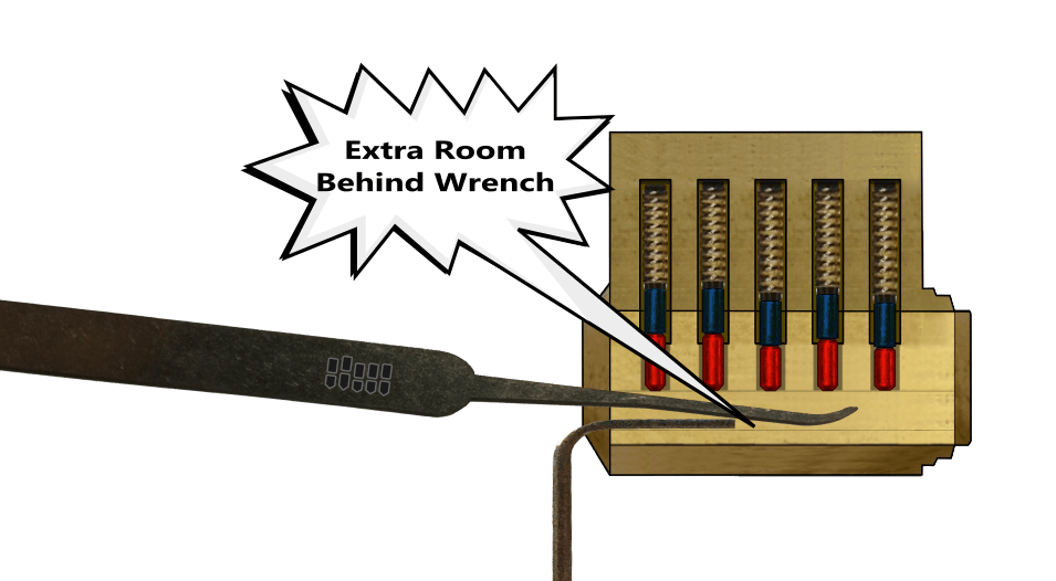 The Tension Wrench - Leverage Behind Wrench