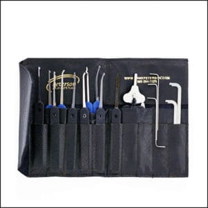 Peterson 9-Piece GSP & Spinner Advanced Lock Pick Set