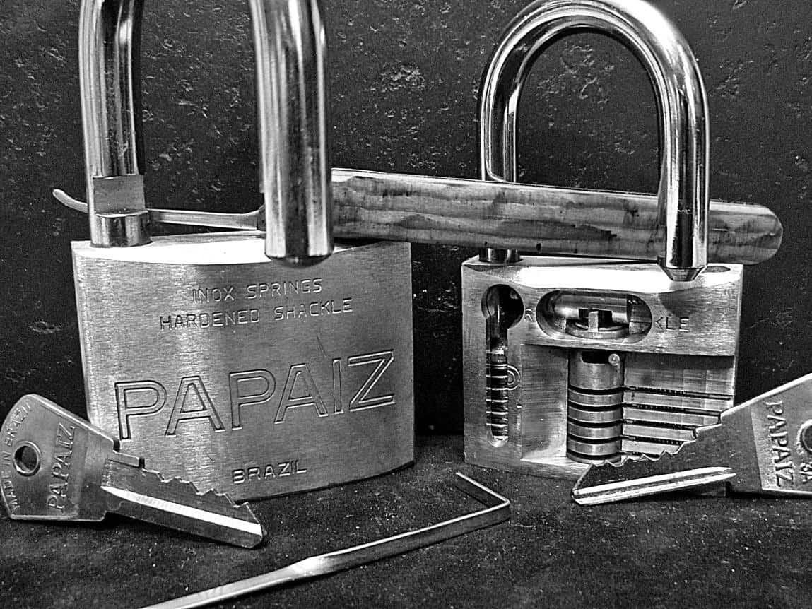Beautiful Lock - Lock Picking Art