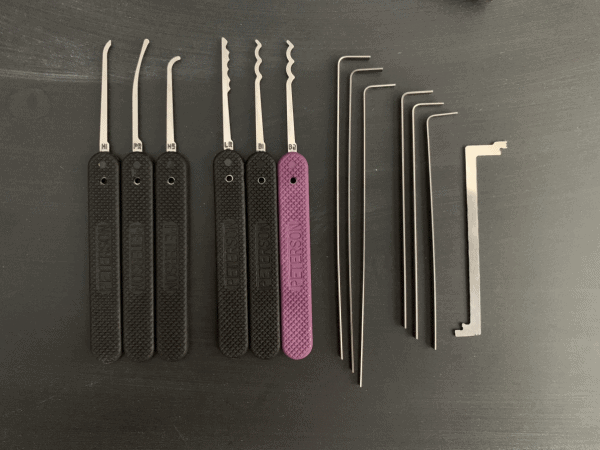 GSP Ghost Lock Picks - Best Beginner Lock Pick Set