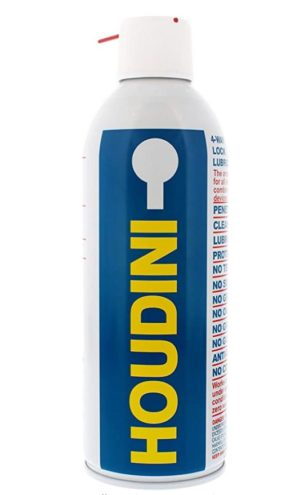 Houdini Lock Lube - Cleaning Old Locks