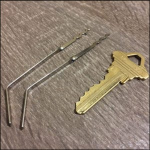 Peterson Bogie Evade and Escape Lock Pick Set