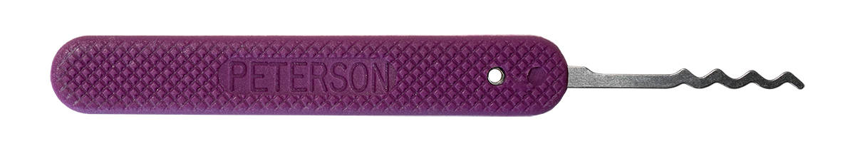 Peterson GSP C4-Cycloid Quad - Purple Handle Lock Pick