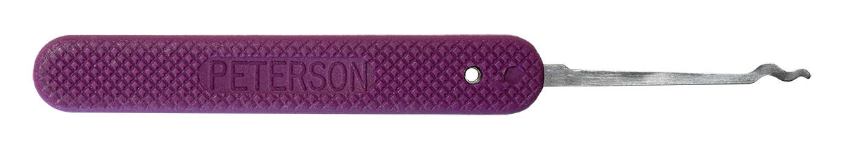 Peterson GSP Double Rake - Purple Handle Lock Pick