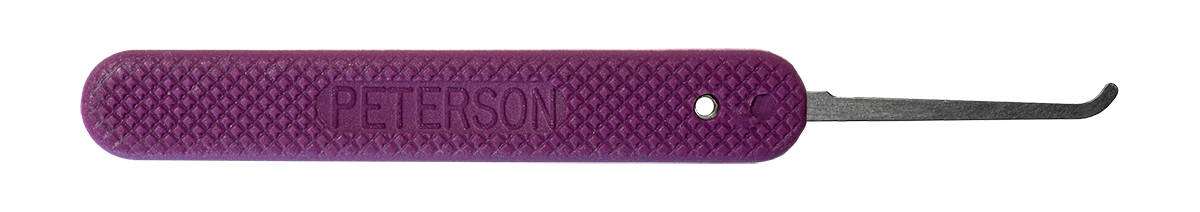 Peterson GSP Hook 4 - Purple Handle Lock Pick