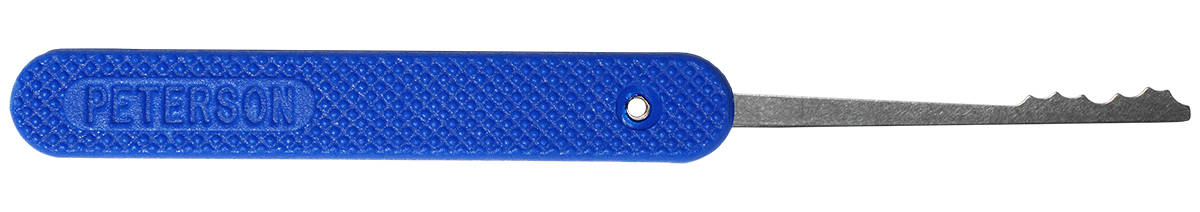 Peterson GSP Mini Ripple 2 - Blue Handle Lock Pick