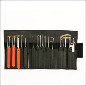 Peterson Phoenix Gold GSP Lock Pick Set