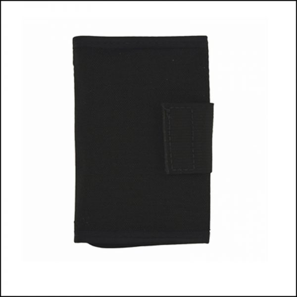 Tri-Fold Nylon Lock Pick Case - Folded