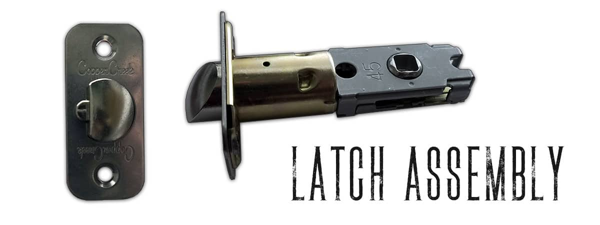 doorknob latch