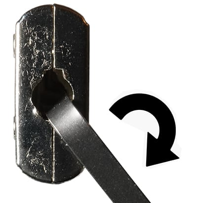 Picking a Diary Lock - Tension Wrench
